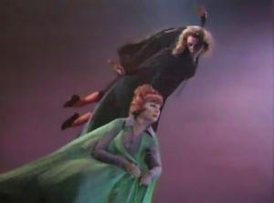 There appears to be an appalling lack of good publicity stills from Bewitched.  What appears on the Internet are mostly screengrabs from VHS or cable television; which is such a shame since there were so many magical moments (without photographic effects) in the series.  This image is from episode 127.