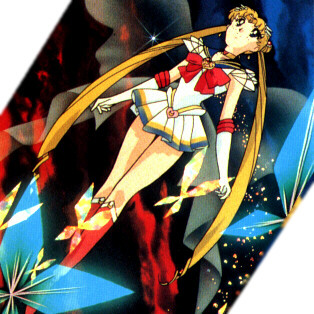 From the third season of the series which is known as Sailormoon-S.
